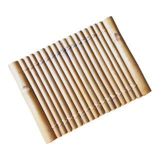 Bohemian Bamboo Serving Tray