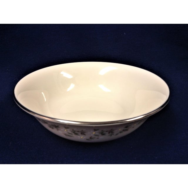 The Brookdale pattern has been discontinued, so replacement pieces are highly sought after. These cereal bowls are...