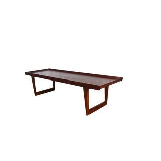 Borge Mogensen Fredericia Stolefabrik Danish Modern Teak Coffee Table For Sale