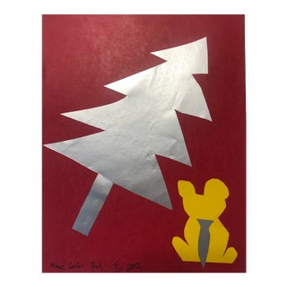 Mouse Conifer Party Modern Collage by James Bone For Sale