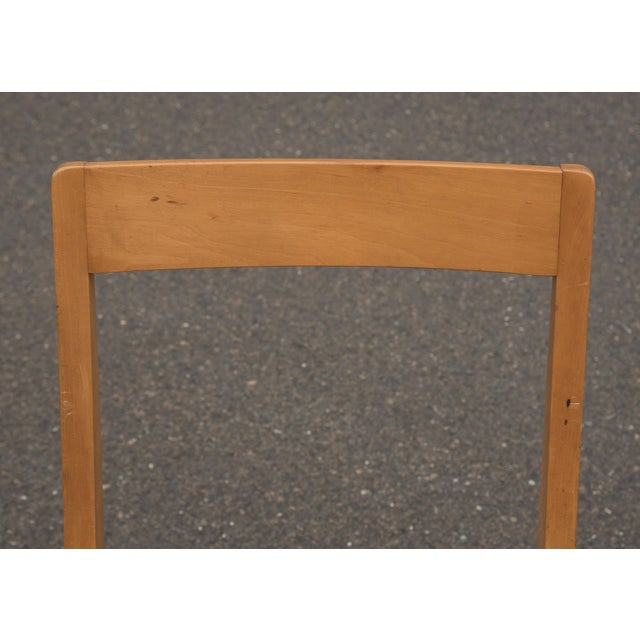 1940s Mid-Century Modern Jens Risom for Knoll Side Chair For Sale In Philadelphia - Image 6 of 10