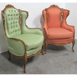 Louis XV Style Carved Chairs- a Pair Preview