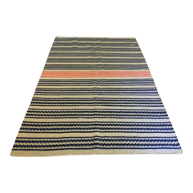 Genevieve Gorder Dokka Striped Rug - 5′ × 8′ - Image 1 of 7
