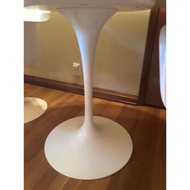 Design Within Reach White Dining Set- 3 Pieces For Sale In Los Angeles - Image 6 of 10