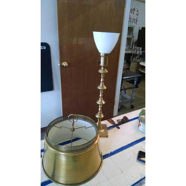 Vintage Brass Table Lamp - Image 4 of 6