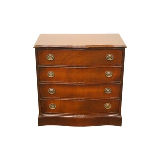 1940's Antique Duncan Phyfe Hepplewhite Low Chest of Drawers For Sale