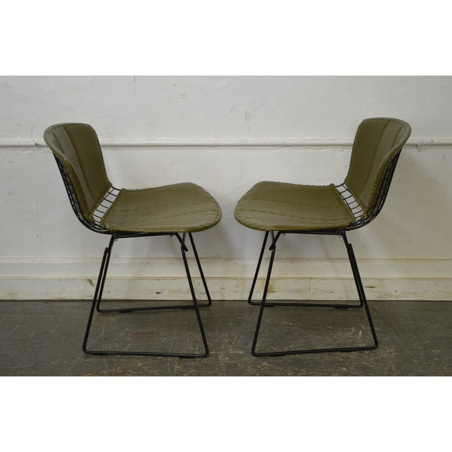Mid-Century Modern Bertoia for Knoll Mid Century Wire Side Dining Chairs - Set of 12 For Sale - Image 3 of 10