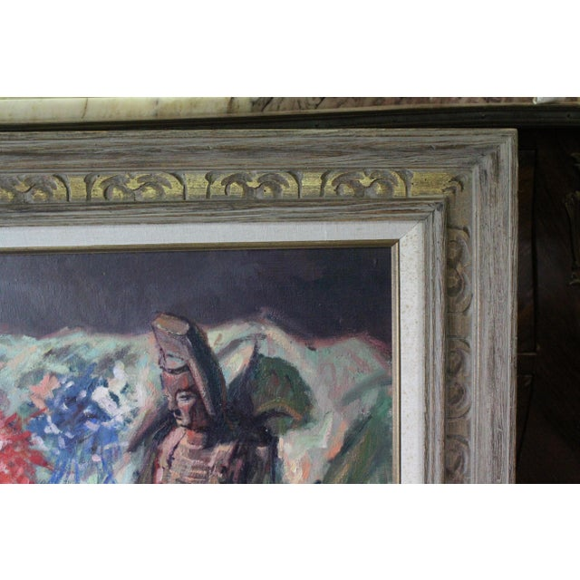 Caddell Japanese Scene Painting For Sale - Image 4 of 11