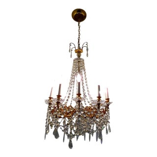 Loaded & Exquisite Crytal Chandelier For Sale