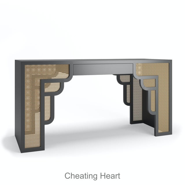 Not Yet Made - Made To Order Habanera Console Table - Cheatiing Heart For Sale - Image 5 of 5