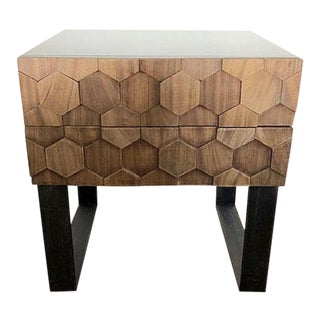 Mid-Century Modern Modshop Honeycomb Nightstand For Sale