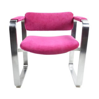 1960s Scandinavian Modern Eero Aarnio for Mobel Italia Executive Armchair For Sale
