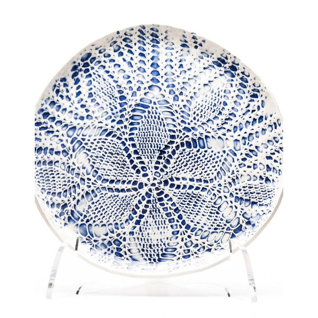 Yokky Wong Knitwork Plate 2 For Sale - Image 9 of 9
