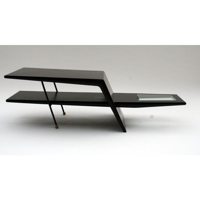 Mid-Century Modern 1960s Mid-Century Modern Sculptural Coffee Table For Sale - Image 3 of 5