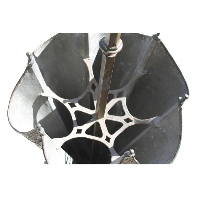 Copper Mythological Umbrella Stand For Sale - Image 7 of 9