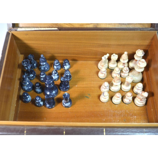 Vintage Game Set in Book Shaped Box For Sale - Image 10 of 12
