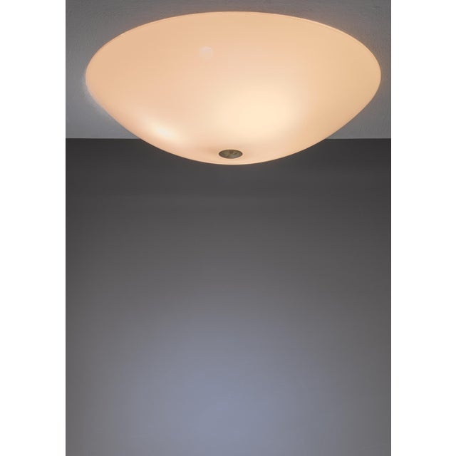 Mid-Century Modern Lisa Johansson-Pape flush mount for Orno, Finland, 1950s For Sale - Image 3 of 3