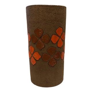 Bitossi Italian Mid Century Ceramic Vase For Sale