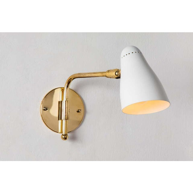 1950s Giuseppe Ostuni Articulating Arm Sconces for O-Luce - a Pair For Sale - Image 10 of 13