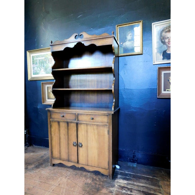 Rustic Rustic Casita Wooden Hutch For Sale - Image 3 of 11