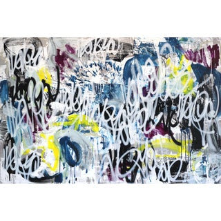 """Abstract Painting, """"Wild Child"""" by Amber Goldhammer For Sale"""