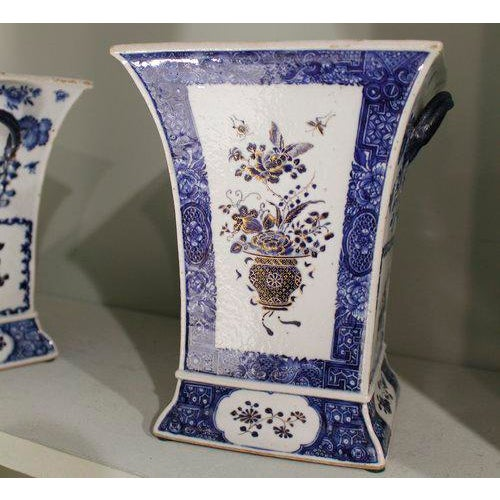 Late 18th Century Chinese Export Bough Pots - A Pair - Image 8 of 9