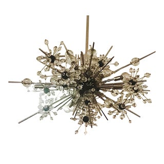 Lobmeyr Metropolitan Chandelier 16 Lights For Sale
