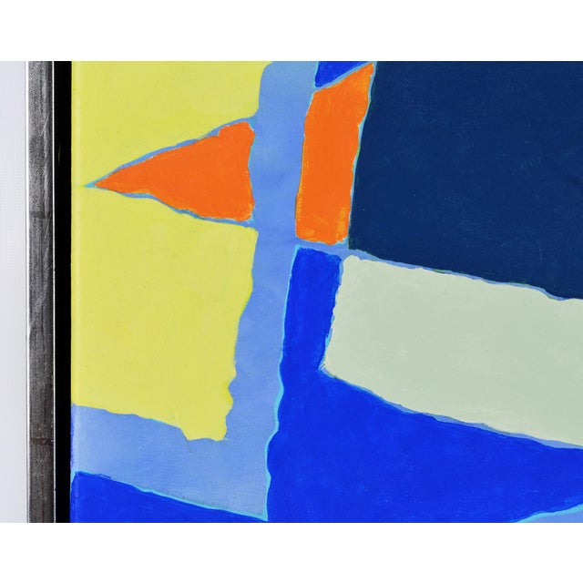 """Early 21st Century Abstract Original Painting, """"Composition"""" by Anders Hegelund - Image 3 of 11"""