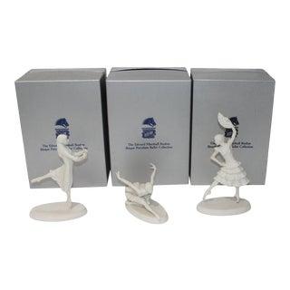 Vintage Boehm Ballerina Figurines - a Set of 3 For Sale