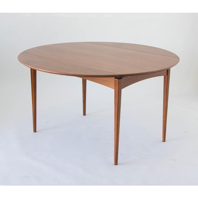 Drop-Leaf Dux Dining Table - Image 6 of 8