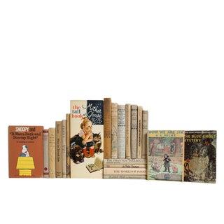 Vintage Children's Stories in Neutral For Sale