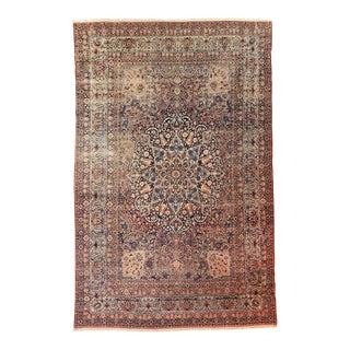1900s Antique Persian Kerman Lavar Rug- 12′ × 17′10″ For Sale