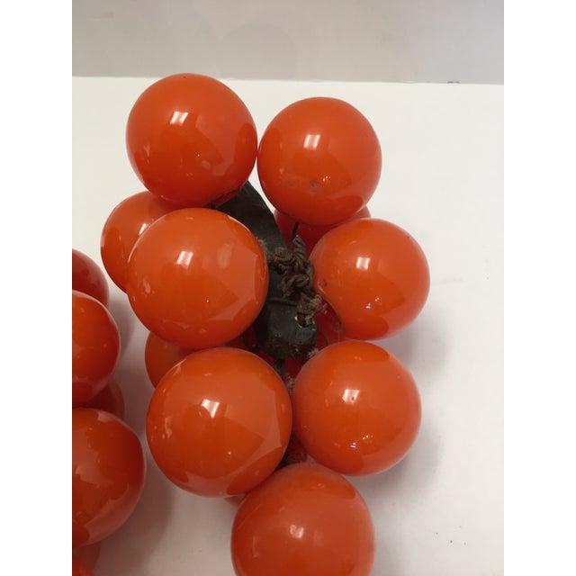 Mid-Century Orange Lucite Grapes - A Pair - Image 11 of 11