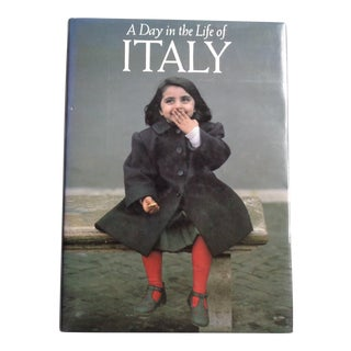 A Day in the Life of Italy Coffee Table Vintage Book For Sale