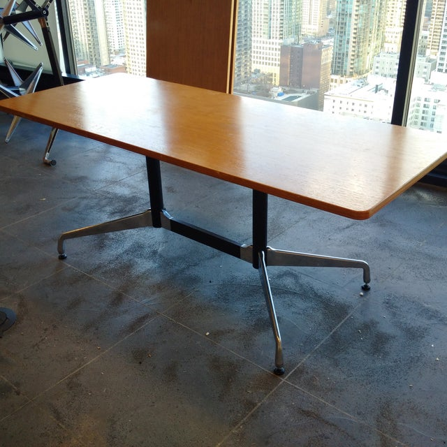 Eames Table in Ash - Image 3 of 6