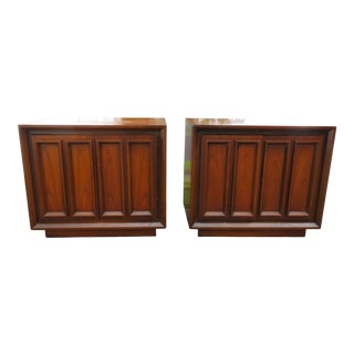 Mid-Century Modern Nightstands Side End Tables Modernage 2162 - a Pair For Sale