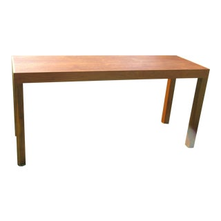 Mid-Century Modern Teak Sofa /Hall Table Signed Paine's Furniture For Sale