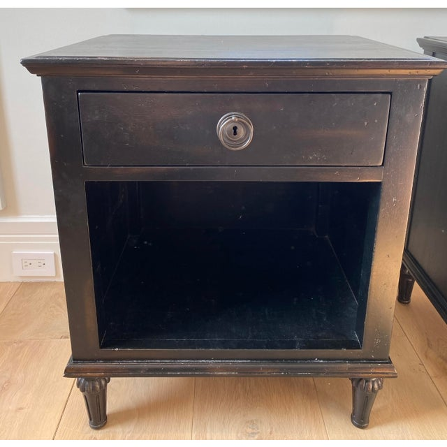 """Pair of RH Maison 24"""" nightstands. Inspired by late 18th-century French furnishings. Made of solid hardwood with..."""