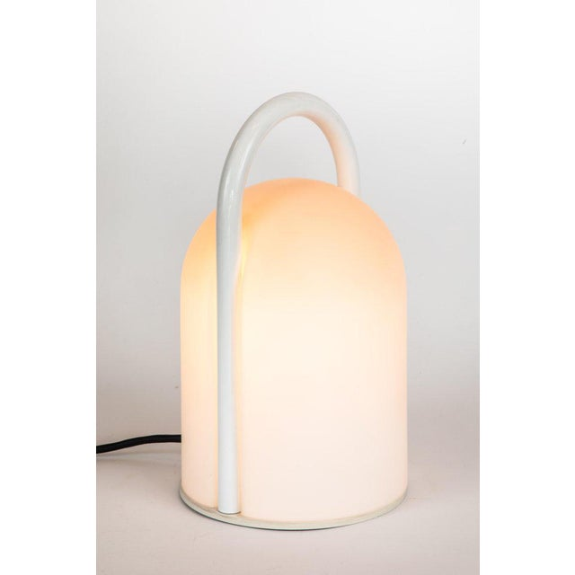 1980s Large Romolo Lanciani 'Tender' Table Lamp for Tronconi For Sale - Image 5 of 13