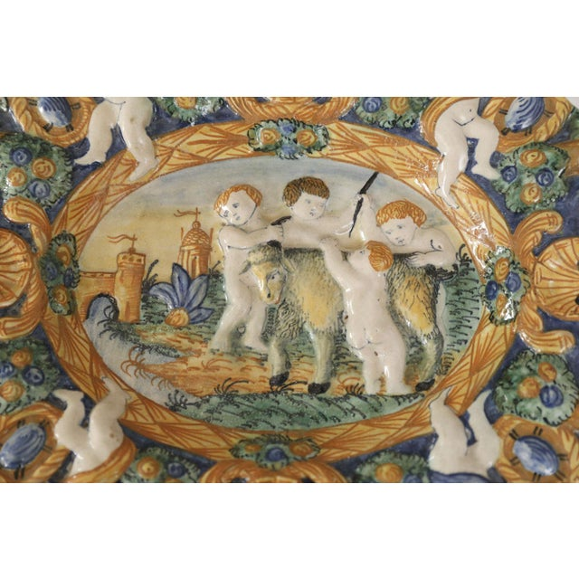 Early Style Decorative Plate For Sale - Image 4 of 8
