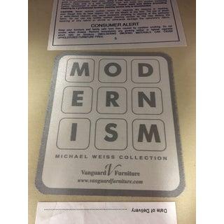 Modernism Michael Weiss Vanguard Wellington Settee Preview