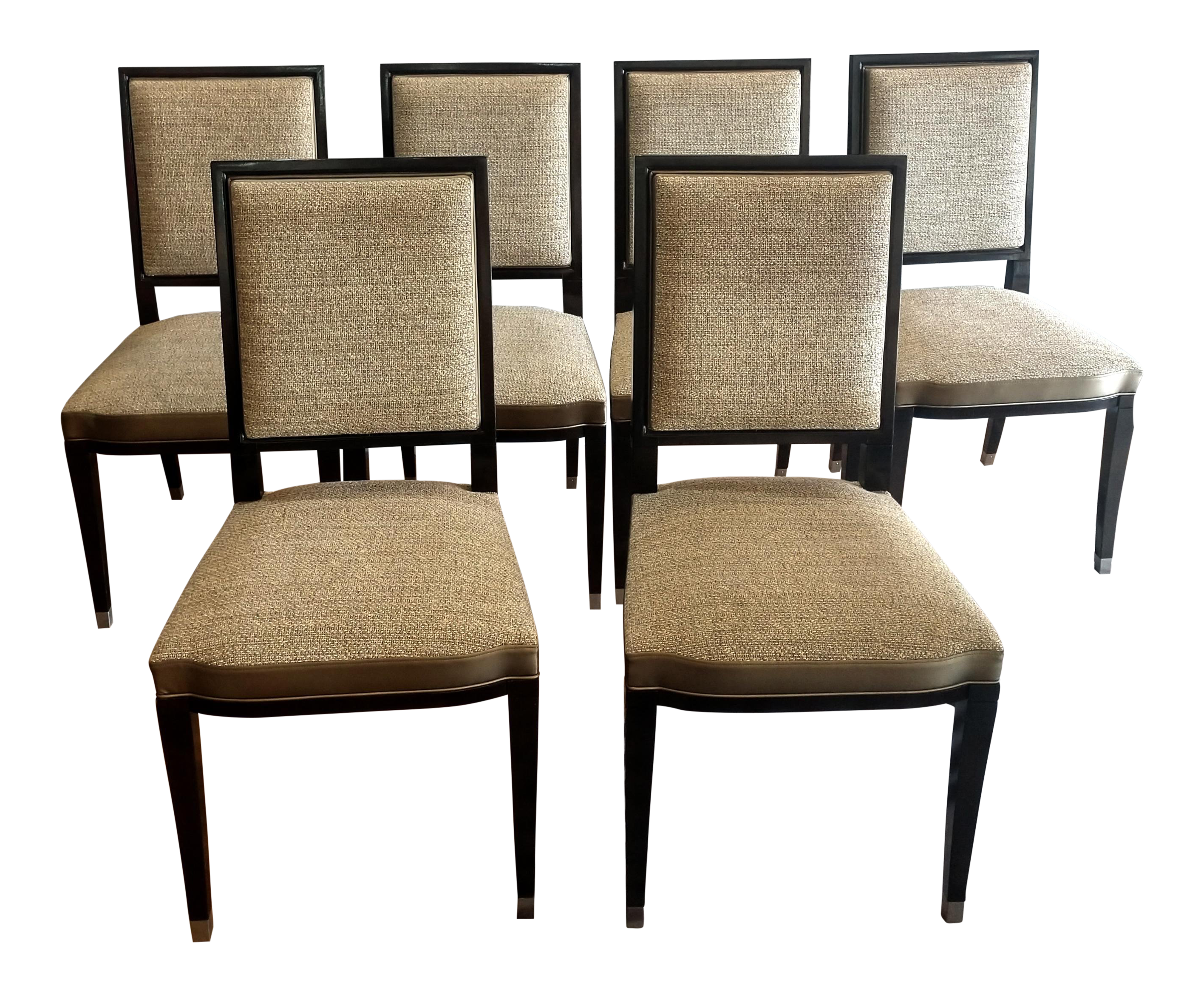 Etonnant English Traditional Roche Bobois Grand Hotel Dining Chairs   Set Of 6