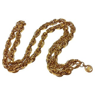 Givenchy Chunky Chain Necklace