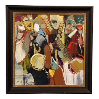 Jazz Peruvian Painting For Sale