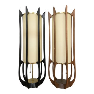 Adrian Pearsall Table/Floor Lamps - A Pair