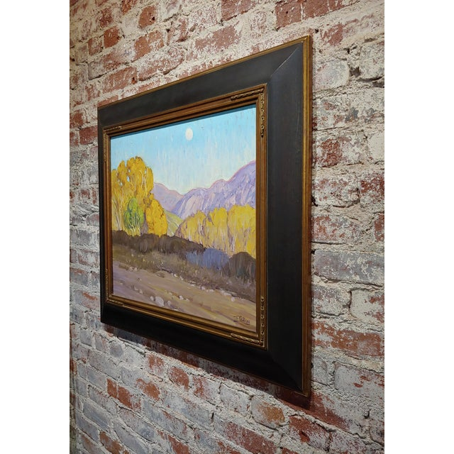Gold Tim Solliday -Beautiful Fall California Landscape - Oil Painting For Sale - Image 8 of 10
