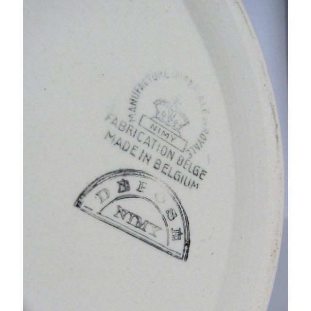 Large Belgian Porcelain Pitcher and Bowl - Image 7 of 9