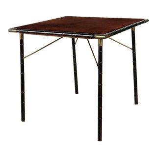 1960s Billy Haines Style Game Table For Sale