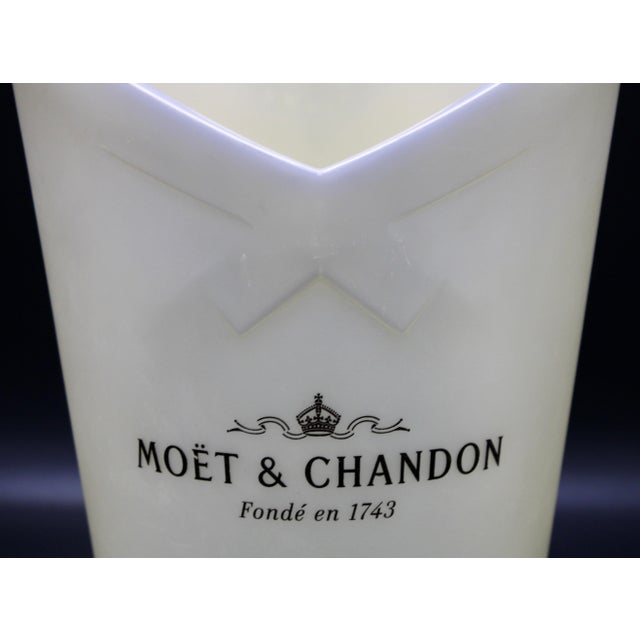 French Vintage Moet and Chandon French Champagne Bucket For Sale - Image 3 of 12