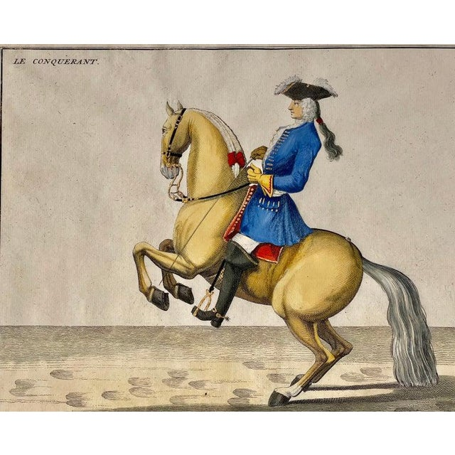 Four Engravings of Horse Riders Le Sensible, Le Royal, Le Conquerant, Le Ballon For Sale In New York - Image 6 of 11
